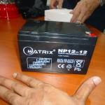 20w generator battery size