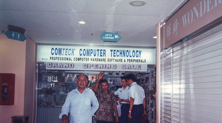 Comteck official open on 15 feb 1994